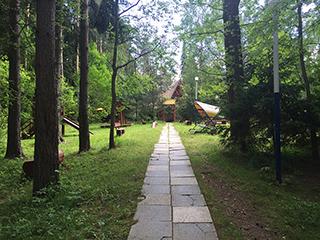База отдыха на Истринском водохранилище