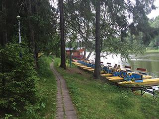 Базы отдыха на Истринском водохранилище